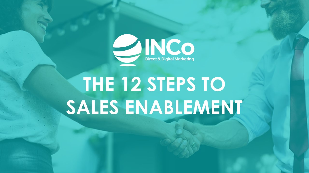 12 Steps to Sales Enablement Front Cover