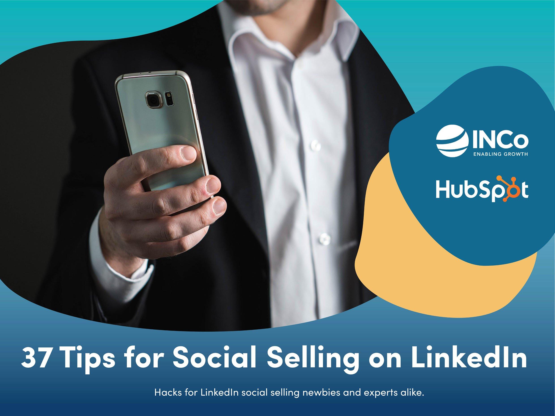 37 Tips for Social Selling on LinkedIn - Landscape Cover - Smaller