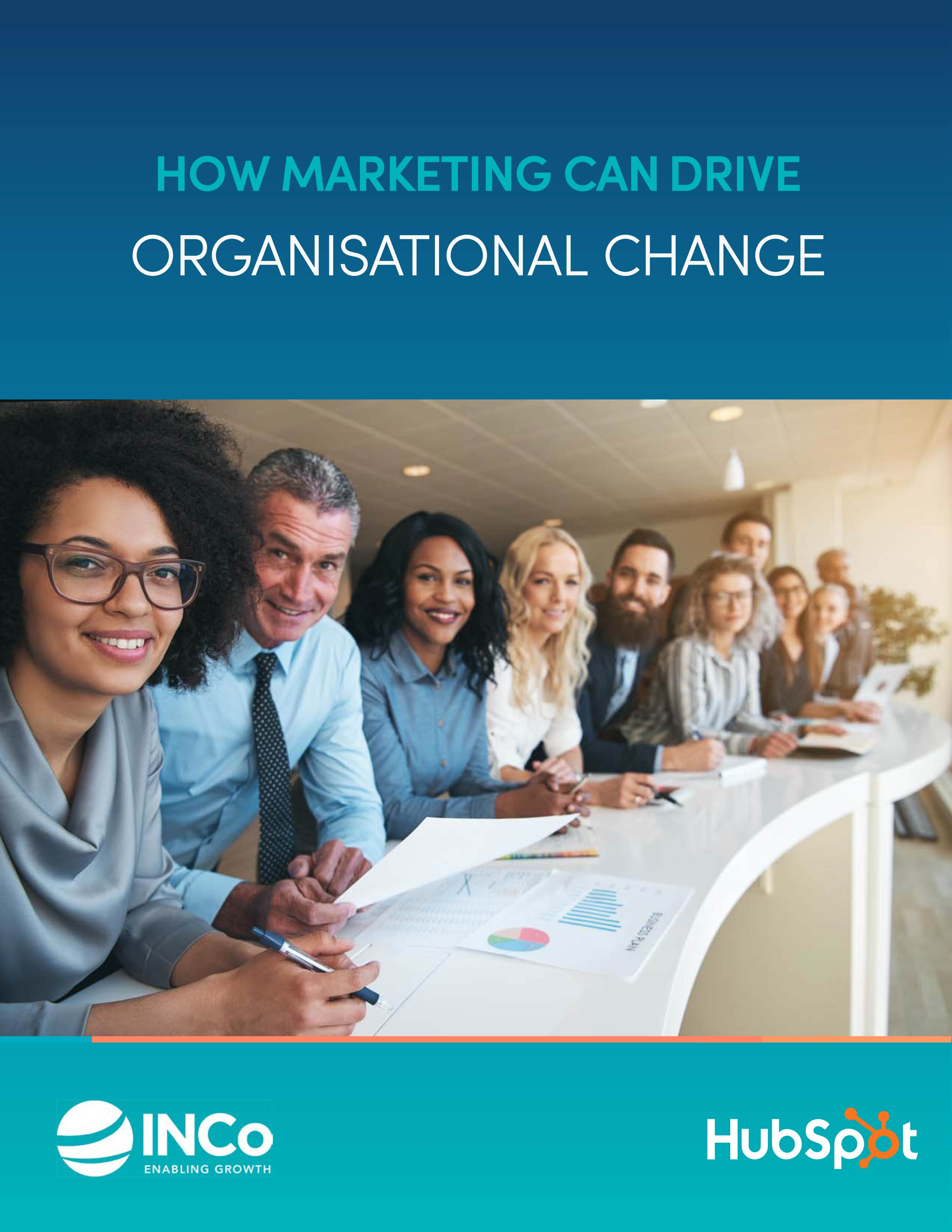 INCo - How Marketing can drive organisational change - Portrait Cover