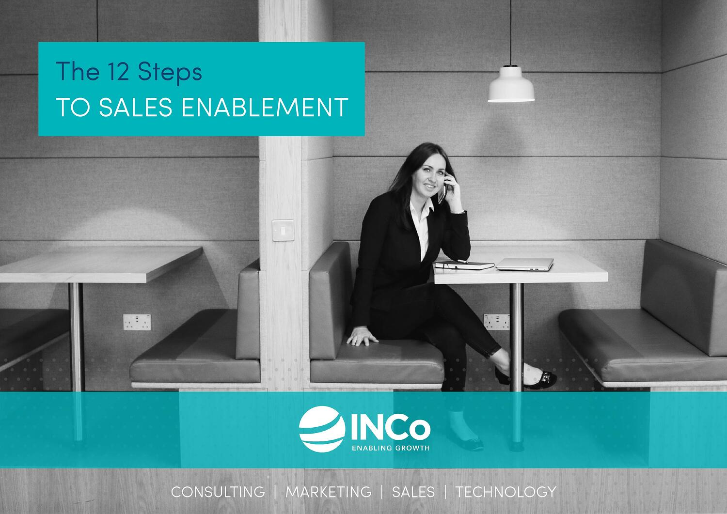 INCo - The 12 Steps to Sales Enablement - Landscape Cover