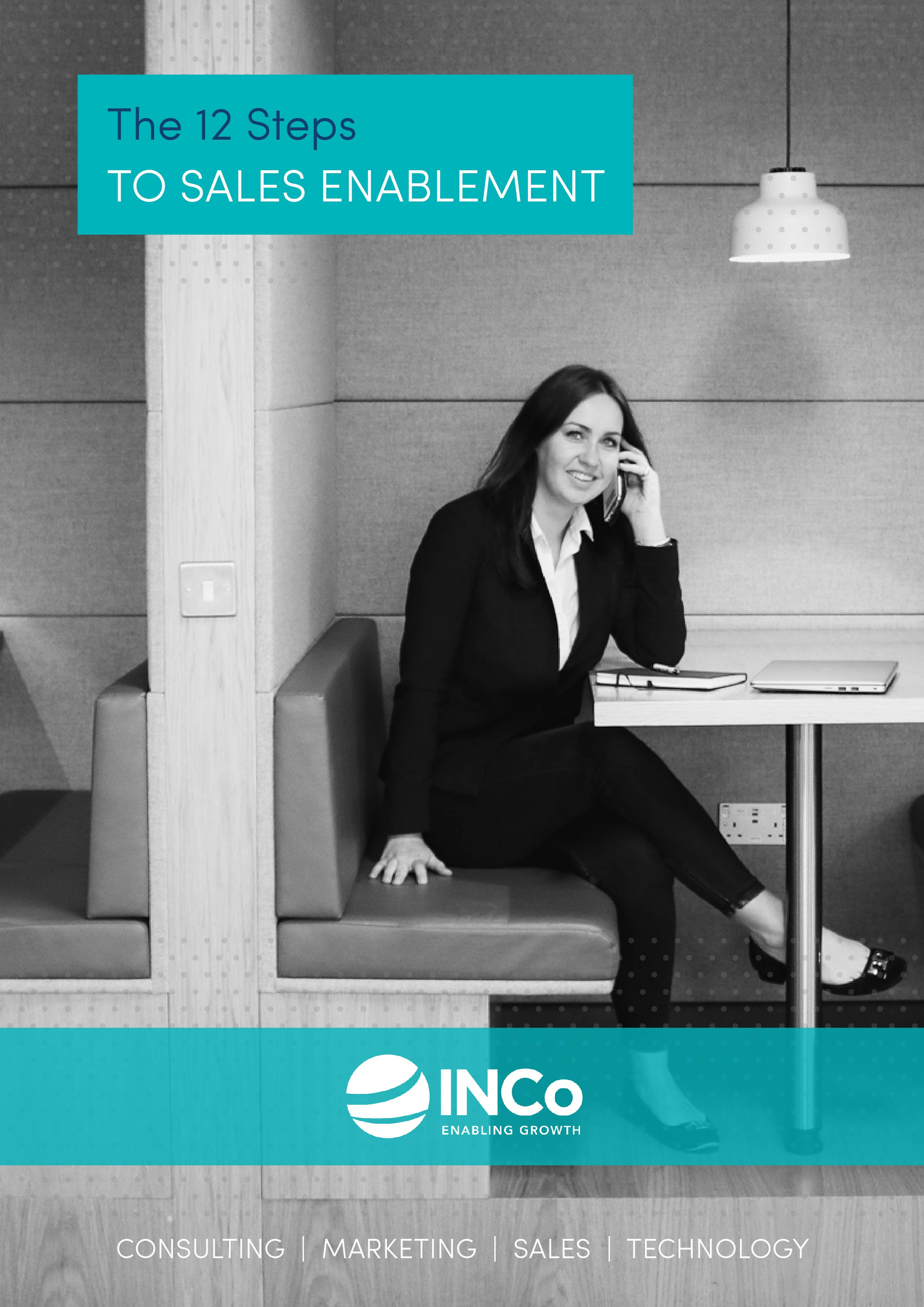 INCo - The 12 Steps to Sales Enablement - Portrait Cover